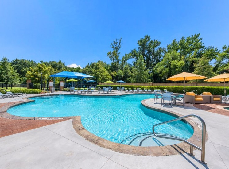 Resort Style Pool at The Madison of Tyler Apartment Homes, TX, 75703