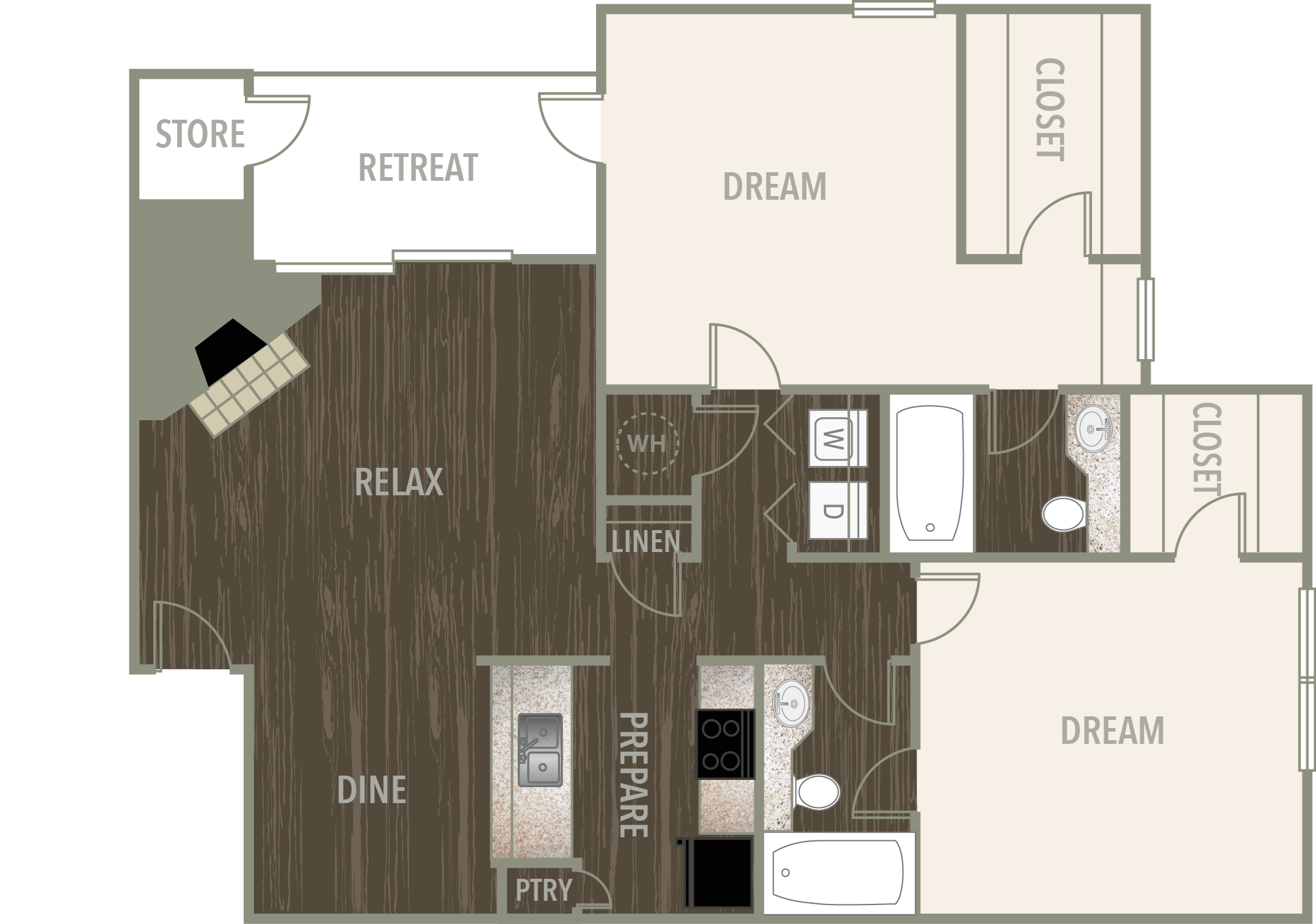 The Dogwood Floor Plan 4