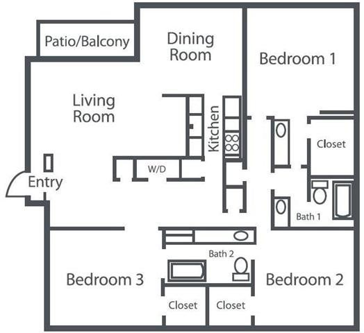 The Serenade Floor Plan 6