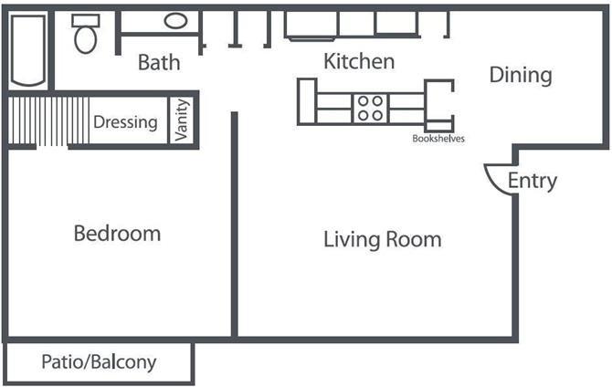 The Solo Floor Plan 1