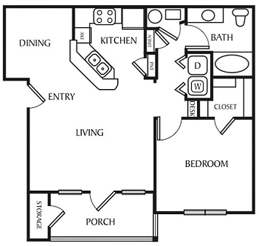 The Birch Floor Plan 1