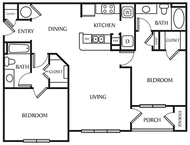 The Cedar Floor Plan 2