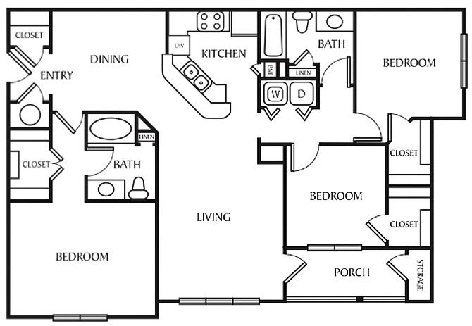 The Elderberry Floor Plan 3