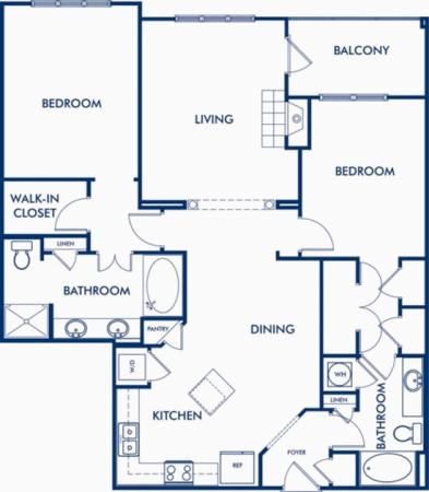 The Ivy Floor Plan 4