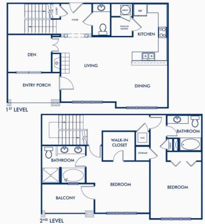 The Ponce de Leon Townhouse Floor Plan 5