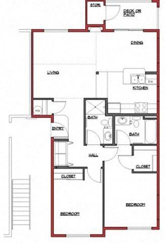 The Aldwell Floor Plan 1