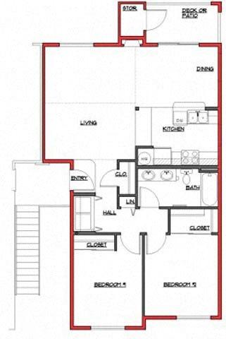 The Elwha Floor Plan 2