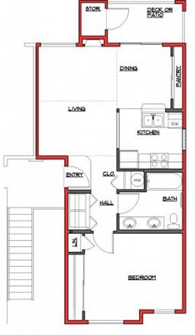 The Quinault Floor Plan 4
