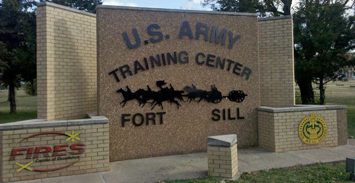 Ft Sill Sign