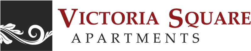 Logo at Victoria Square Apartment Homes located n Lawton Oklahoma