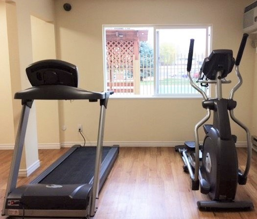 Great Cardio Room At Village Green Apartments