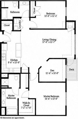 Grand Avenue B Floor Plan 20