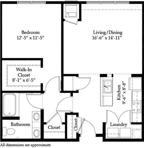 Highland A Floor Plan 1