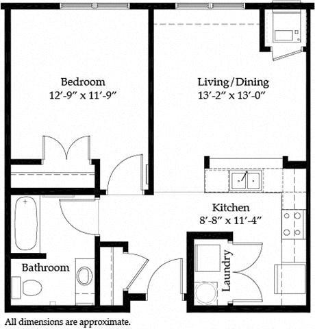Merriam Park A Floor Plan 3