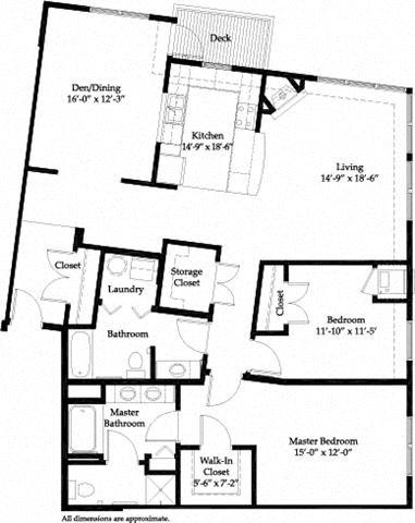Summit B Floor Plan 25