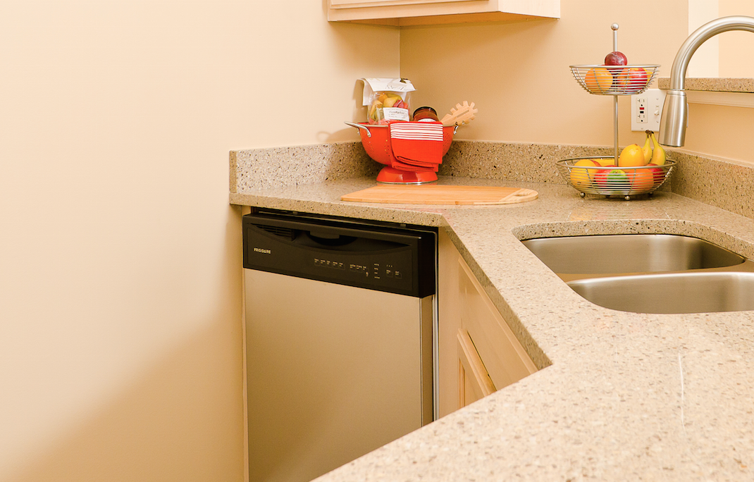 Large Kitchens At Ovaltine Court Apartments For Rent