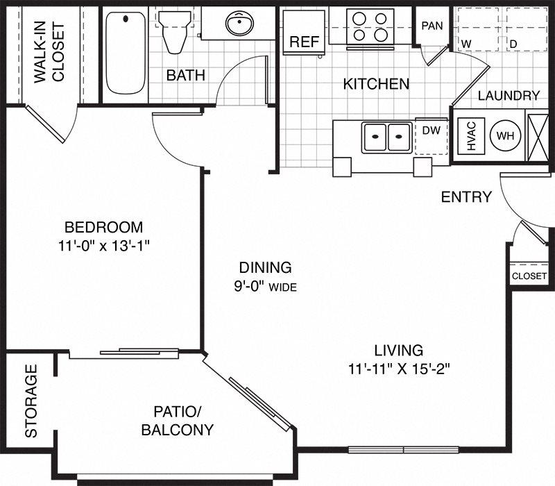 Delaney Court Apartments Rentals: Floor Plans Of Ovaltine Court In Villa Park, IL