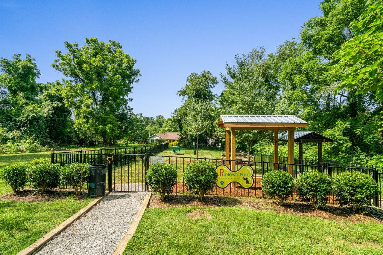 Residential Leash Free Bark Park at Hawthorne Northside in North Carolina 28804