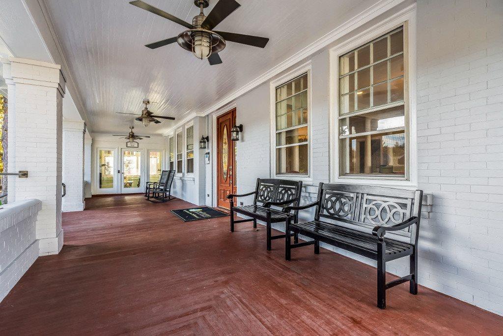 Porch at Hawthorne Northside, Asheville, NC