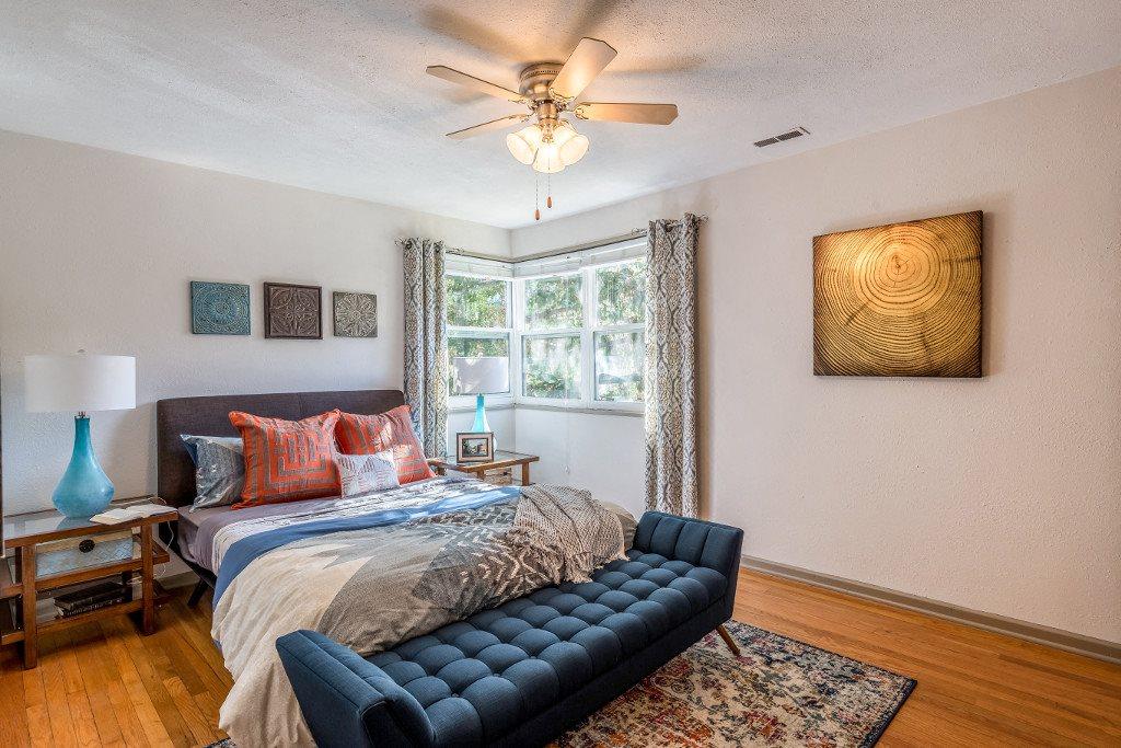 Bedroom at Hawthorne Northside, North Carolina