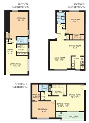 One Bedroom (1A) A
