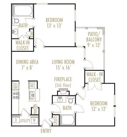 Guadalupe 2x2 Floor Plan 7