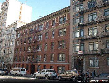 545 O'farrell St. Studio Apartment for Rent Photo Gallery 1