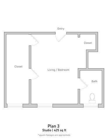 Studio - Plan 3