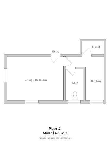 Studio - Plan 4