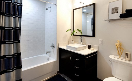 The Vue luxury apartment bathroom