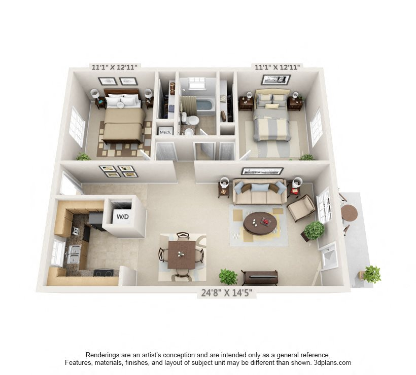 The Alexandria Floor Plan 4