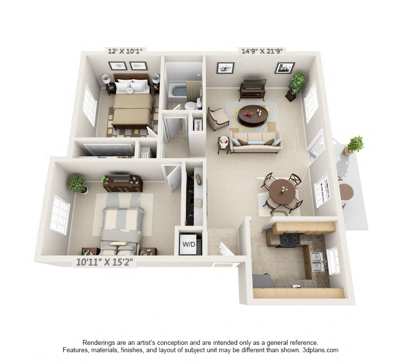 The Georgetown Floor Plan 3