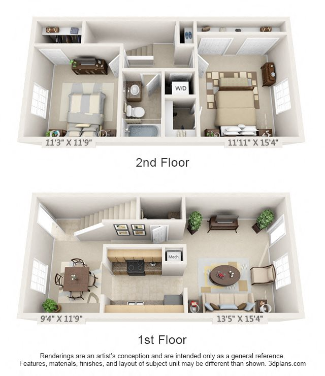 The Henderson Floor Plan 6