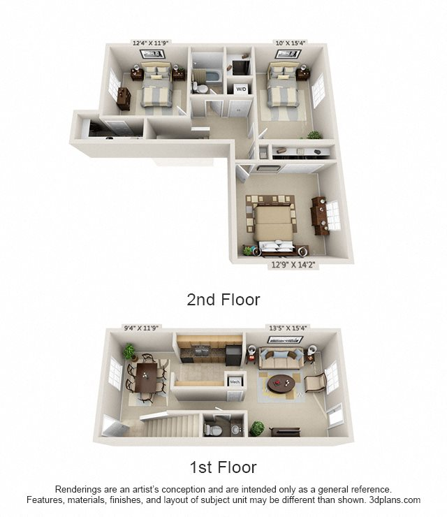 The Madison Floor Plan 8