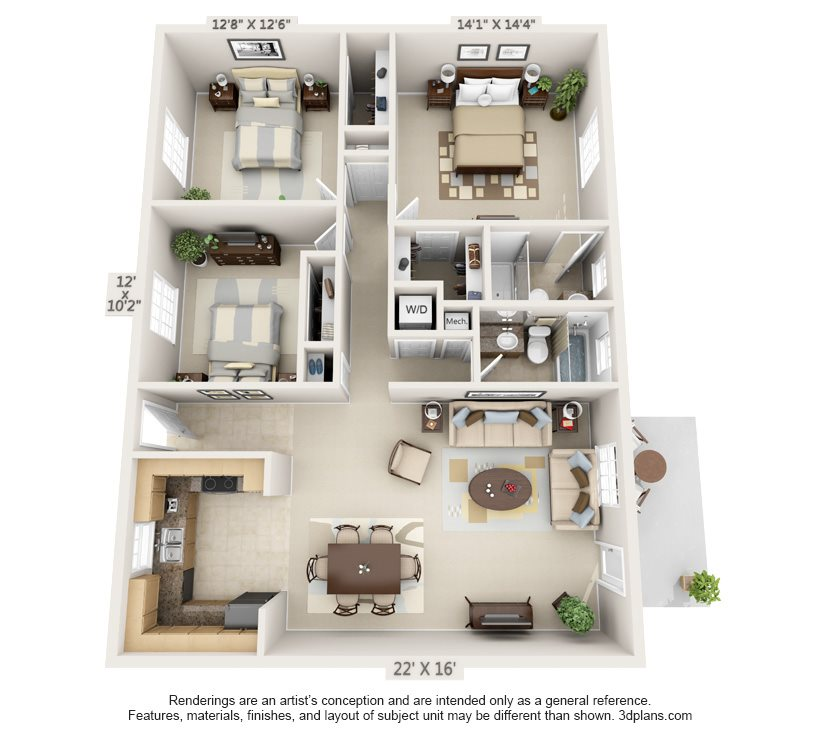 The Reserve Floor Plan 7