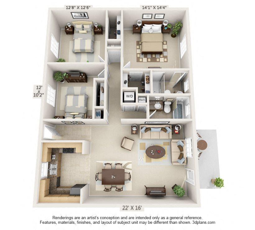 The Reserve Floor Plan 7