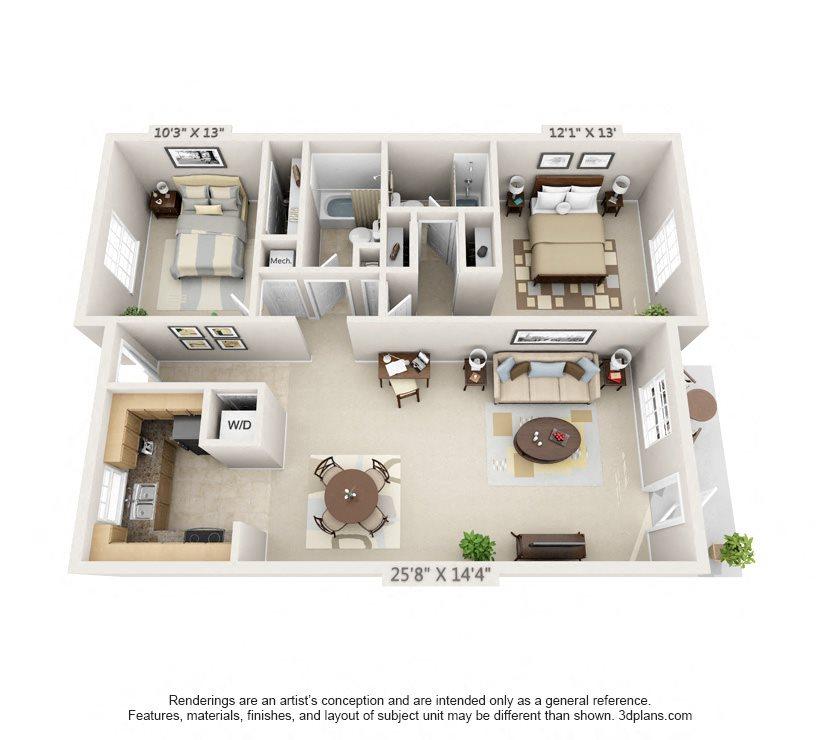 The Savannah Floor Plan 5