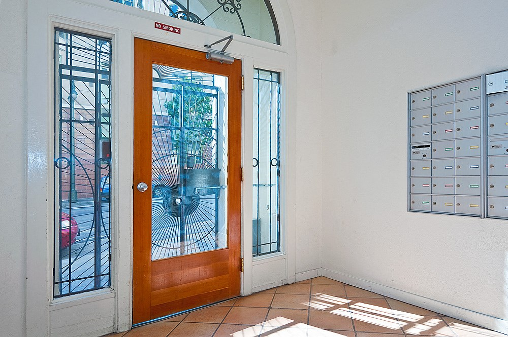 Entryway and Lobby at The Taylor Suites