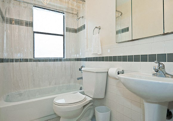 Remodeled Bathroom at The Taylor Suites