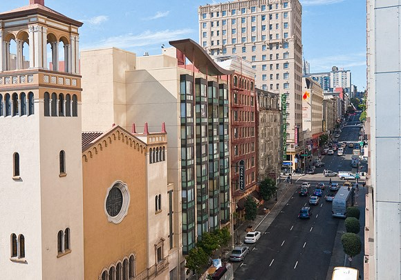 Western View from The Taylor Suites