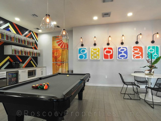 Connection Student Apartments Austin Game Room