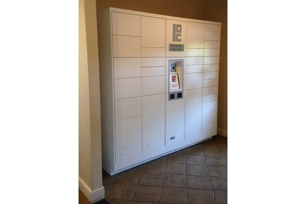 Package Concierge Locker System at Park Meridian, Washington