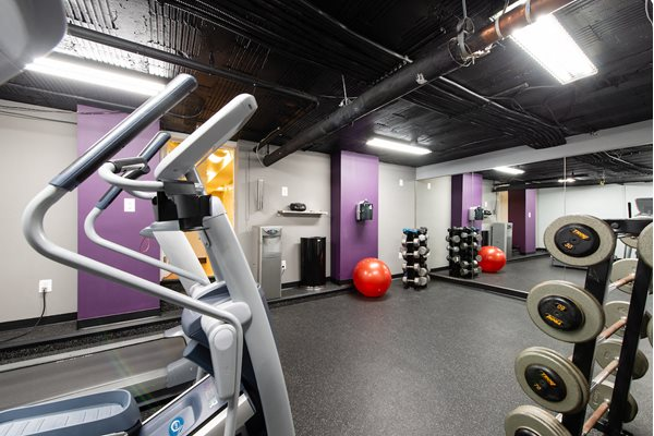 Fully Equipped Fitness Center at Ravenel