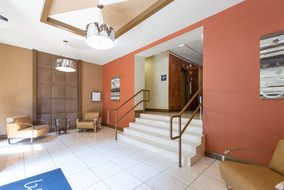 Contemporary Lobby Area at Ravenel, Washington, 20009