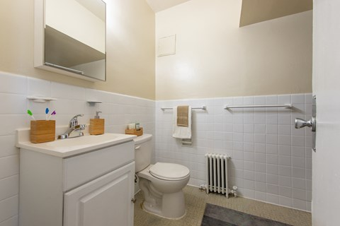 Spacious Bathrooms at Sarbin Towers, Washington, Washington