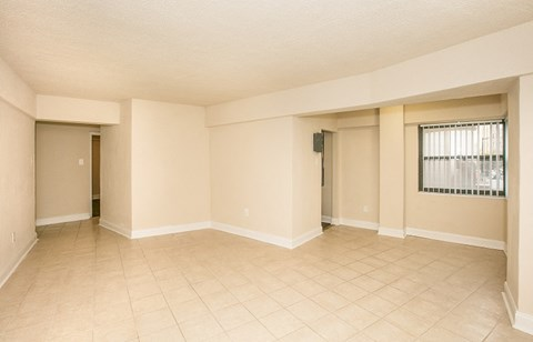 Alternate View Of Living Room With Tile Floor At Sarbin Towers