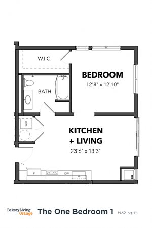 The 1 Bedroom 1