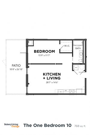 The 1 Bedroom 10