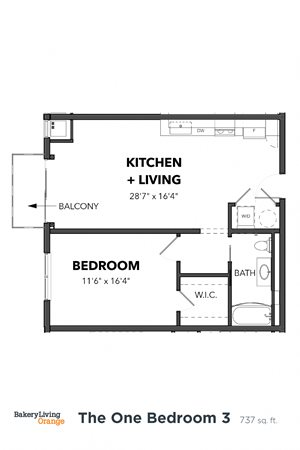 The 1 Bedroom 3