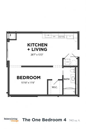 The 1 Bedroom 4